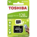 128 GB . microSDHC karta Toshiba Class 10 UHS + adaptér