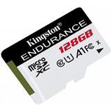 128 GB . microSDXC karta Kingston High Endurance Class 10 UHS-I U1 (r95MB/s, w30MB/s) bez adaptéra