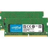 16GB DDR4 2400 MT/s (PC4-19200) CL17 DR x8 Crucial Unbuffered SODIMM 260pin
