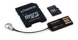 64 GB . microSDXC Karta Kingston class 10 + MicroSD čítačkou + Adaptér (w10MB/s)