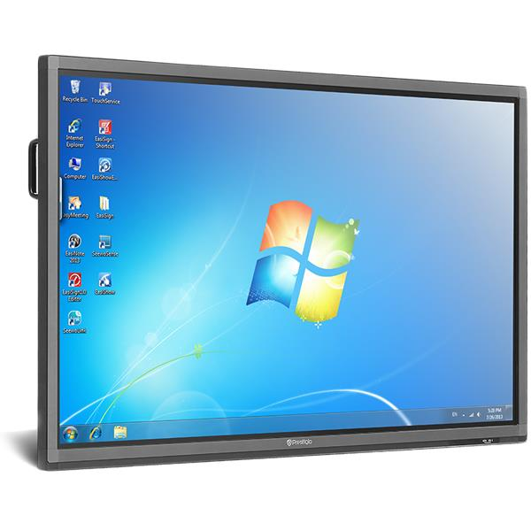 "75"" Prestigio Multiboard, 3840x2160, dotykova obrazovka, Dual OS: Android 8.0 & Windows PC"