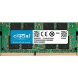 8GB DDR4 2666 MT/s (PC4-21300) CL19 SR x8 Crucial Unbuffered SODIMM 260pin
