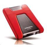 """A-DATA DashDrive™ Durable HD650 2,5"""" externý HDD 1TB USB 3.1 červený, vode a nárazom odolný"""