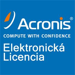 Acronis Access Advanced 0 - 250 User - 1 Year Maintenance, price per user; - 250 maximum allowed End Users