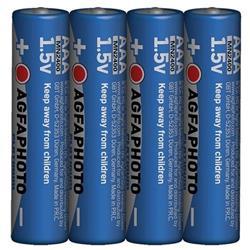 AgfaPhoto Power alkalická batéria 1.5V, LR03/AAA, shrink 4ks