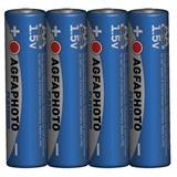 AgfaPhoto Power alkalická batéria 1.5V, LR06/AA, shrink 4ks