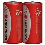 AgfaPhoto zinková batéria R14/C, shrink 2ks