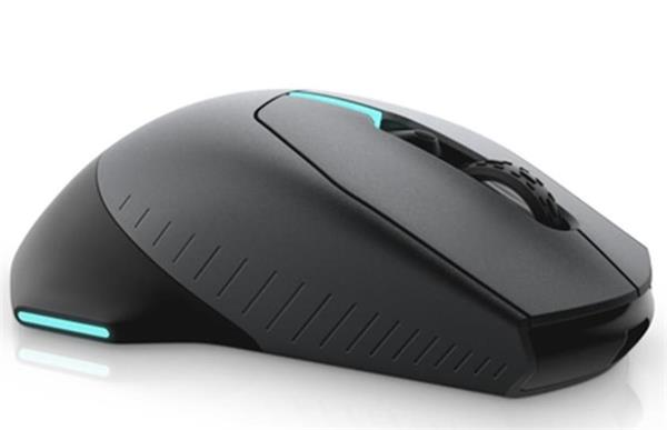 Alienware Wired / Wireless Gaming Mouse - AW610M (Dark Side of the Moon)