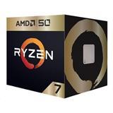 AMD, Ryzen 7 2700X, Processor BOX, soc. AM4, 105W, Wraith Prism chladič - Gold Edition