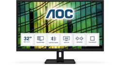 "AOC Q32E2N 31.5""W IPS LED 2560x1440 20 000 000:1 4ms 250cd HDMI DP repro"