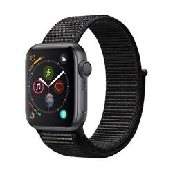 Apple Watch Series 4 GPS, 40mm Space Grey Aluminium Case with Black Sport Loop