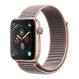 AppleWatch Series4 GPS, 44mm Gold Aluminium Case with Pink Sand Sport Loop