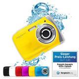 """Aquapix W1024-Y """"Splash"""" Yellow, vodotesný digitálny fotoaparát/kamera do 3m, 10MP sensor"""