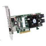 ARC-1216-4I 4-port SAS/SATA (1xSFF8643), 1GB cache,RAID 0/1/1E/3/5/6/10/...JBOD,PCI-E 3.0 x8,LP