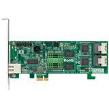 ARECA PCIe x1 Controller, 8x SATA-II,