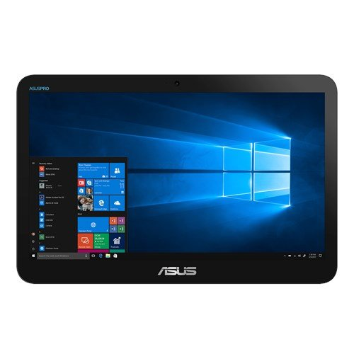 "ASUS AiO V161GART-BD012D Celeron N4020 15,6"" HD Touch UMA 4GB 128GB SSD WL BT Cam ENDLESS RS-232 (COM), čierny"
