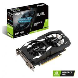 ASUS DUAL-GTX1650-O4G 4GB/128-bit GDDR5, DVI, HDMI, DP
