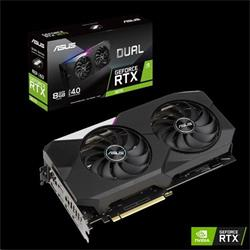 ASUS DUAL-RTX3070-8G 8GB/256-bit GDDR6 2xHDMI 3xDP