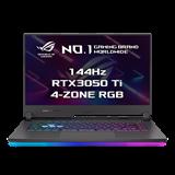 """ASUS ROG Strix G15 G513QE-HN029T AMD R5-5600H 15.6"""" FHD mat 144Hz RTX3050/4GB 16GB 512GB SSD WL BT W10 CS"""