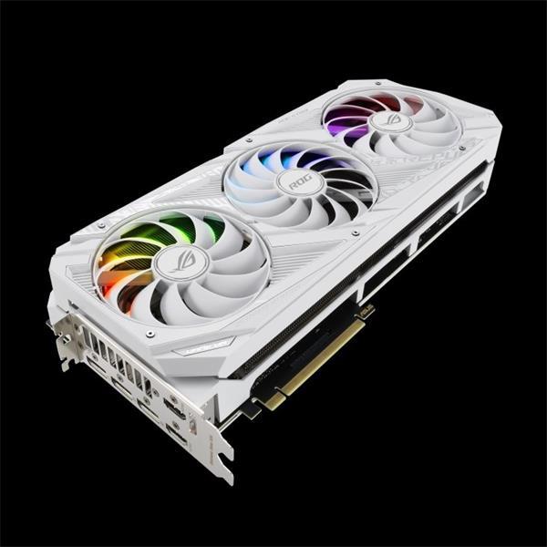 ASUS ROG-STRIX-RTX3080-O10G-WHITE 10GB/320-bit GDDR6X 2xHDMI 3xDP