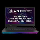 """ASUS ROG Strix SCAR 15 G533QS-HF156T AMD R9 5900HX 15.6"""" FHD matný 300Hz RTX3080/8GB 16 1TB SSD WL BT W10 CS;"""
