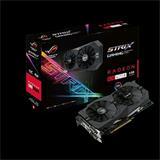 ASUS STRIX-RX480-O8G-GAMING 8GB/256-bit, GDDR5, DVI, 2xHDMI, DP