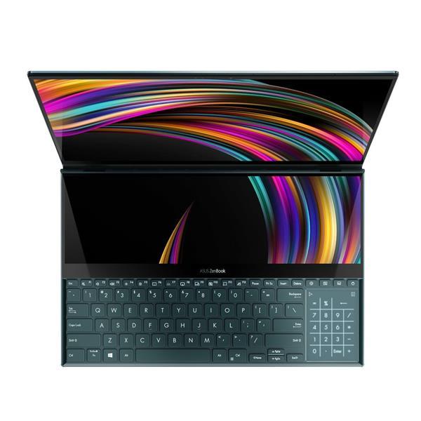 ASUS Zenbook Pro Duo UX581LV-H2025R Intel i9-10980HK 15.6 OLED Touch RTX2060/6GB 32GB 1TB SSD WL BT Cam W10PRO modry;SP