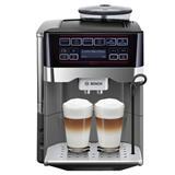 BOSCH_19 barov, IntelligentHeater, AromaPro, AromaDouble Shot, keramický mlynček, 2 šálky naraz: všetky kávy a mliečne š