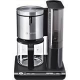 BOSCH_Filtračný kávovar dvojitý systém ohrevu s 1100W Čierna