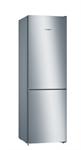 BOSCH_Voľne stojaca chladnička s mrazničkou dole, 186 x 60 cm, inox look, Seria 4