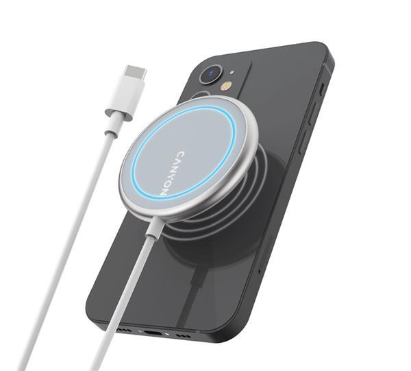 Canyon CNS-WCS100, bezdrôtová Qi nabíjacia stanica pre iPhone
