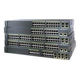 Catalyst 2960-X 48 GigE PoE 370W, 4 x 1G SFP, LAN Base