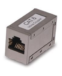 CNS prepojovacia spojka Cat6 STP - 2x female 8p8c