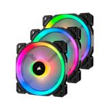 Corsair LL120 RGB LED, ventilátor 120mm PWM Fan — Three Pack