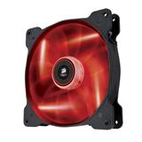 Corsair ventilátor Air Series AF140 LED Red Quiet Edition, 140mm, 25dBA, Single pack