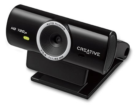 Creative LIVE! Cam Sync HD, USB webkamera, čierna