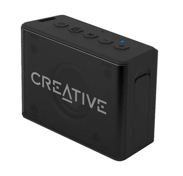 Creative MUVO 1C, Bluetooth reproduktor, IP66 vodeodolný, čierny