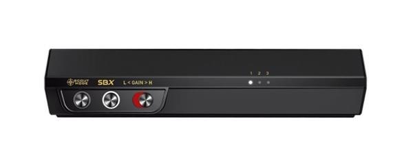 Creative Sound BlasterX G5, zvuková karta 7.1 HD, slúchadlový zosilňovač, externá