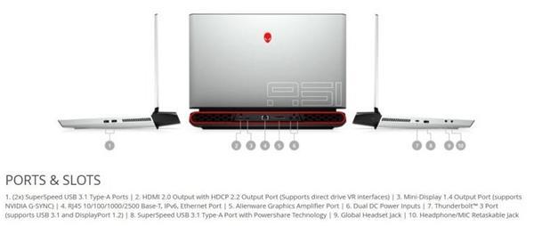 "DELL AW51M R2 i7-10700 17.3"" FHD/16GB/256GBSSD+1TB SATA/RTX 2070(8GB)/ W10H/2YBS"
