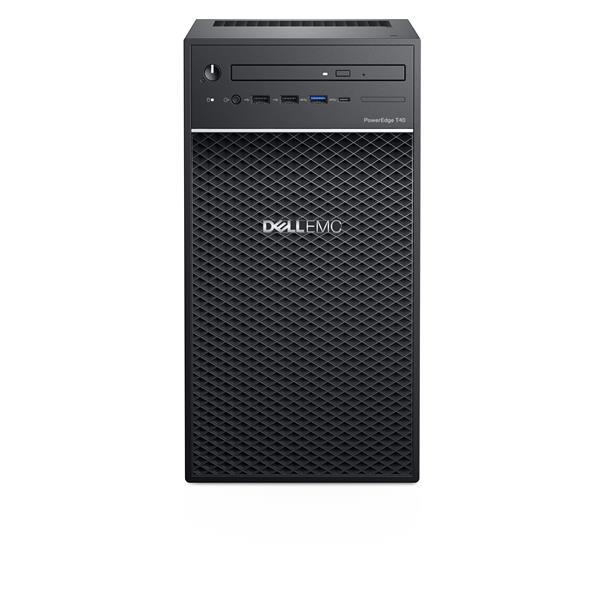 "DELL PE T40/Chassis 3 x 3.5""/Intel Xeon E-2224G/8GB/1x1TB/DVD RW/3Y Basic Onsite"
