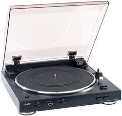 DENON DP 29F gramofón - Silver
