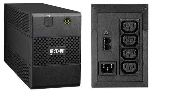 EATON UPS 1/1fáza 850VA, 5E 850i USB 4x IEC, Line-interactive