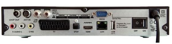 FERGUSON satelitný receiver ARIVA 153 COMBO (DVB-S/S2 + DVB-T/T2)