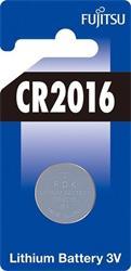 Fujitsu gombíková lítiová batéria 3V, CR2016, blister 1ks