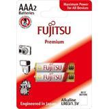 Fujitsu Premium Power alkalická batéria 1.5V, LR03/AAA, blister 2ks