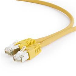 Gembird patch kábel S/FTP Cat. 6A LSZH, 1.5 m, žltý