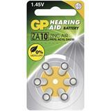 GP batéria zinkovzdušná do naslúchadiel ZA10 gombíková. Cena za balenie