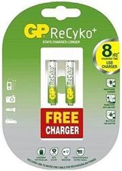 GP nabíjacia batéria RECYKO HR03 2BL + USB nabíjačka