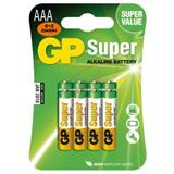 GP - Super Alkalická AAA, microtužková batéria, blister 6+2 ks ZADARMO