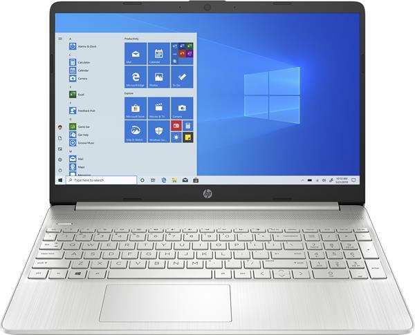 HP 15s-eq1004nc, Athlon 3050U, 15.6 FHD, UMA, 8GB, SSD 256GB, W10s, 2-2-0, Silver